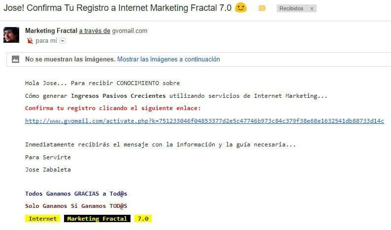 Internet Marketing Fractal 7.0 Boletín
