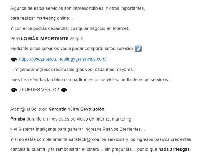 Autoresponder GVO Marketing Online Multinivel